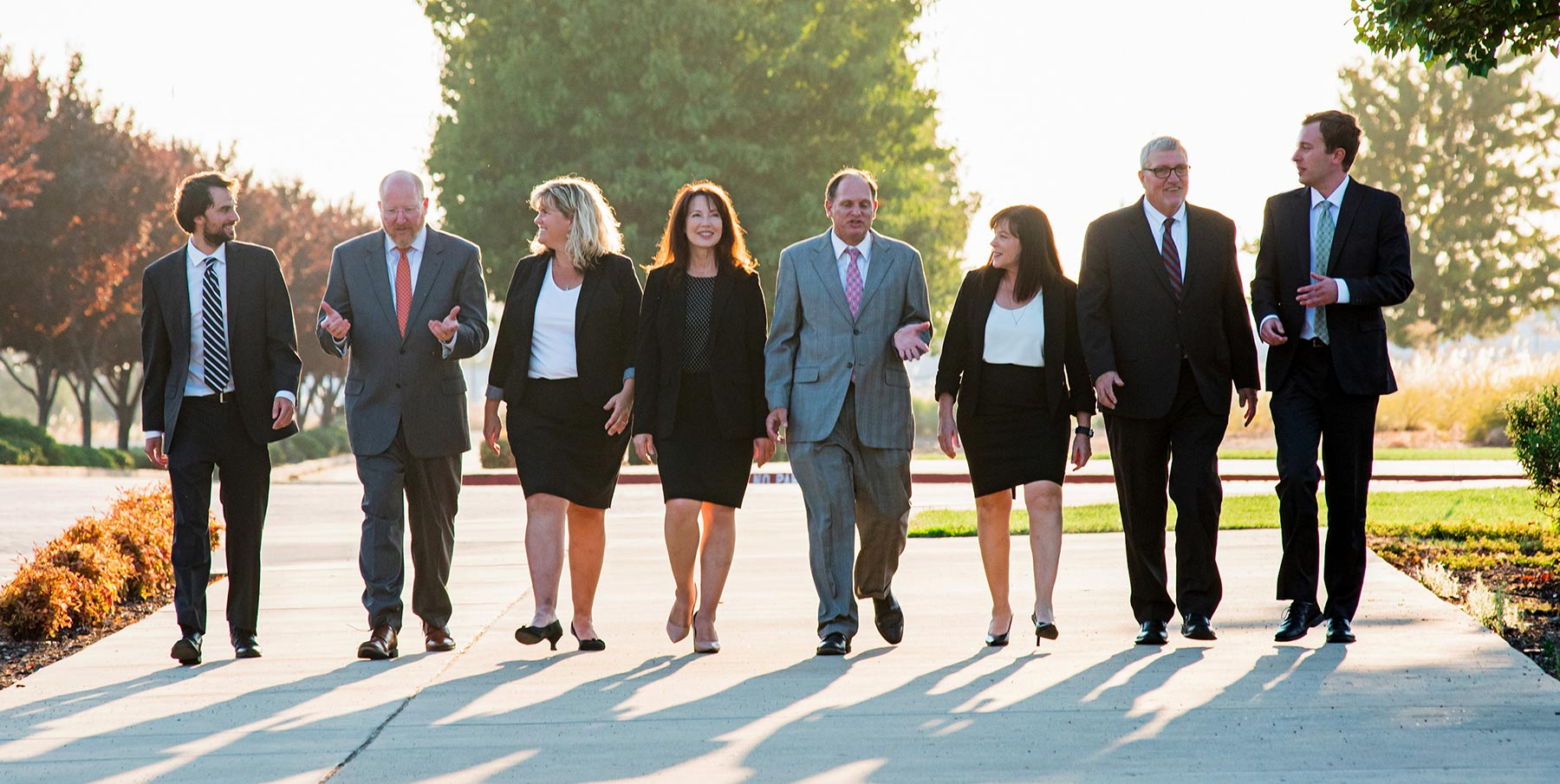 attorneys in the cohen defense group walking at the roseville courthouse
